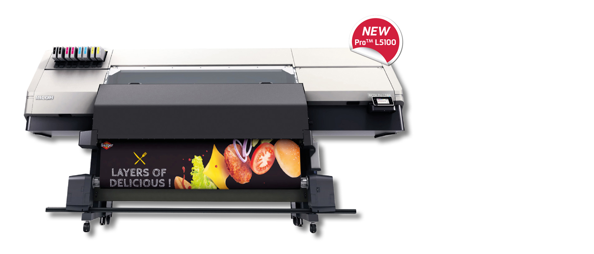 Banner Ricoh Pro L5100