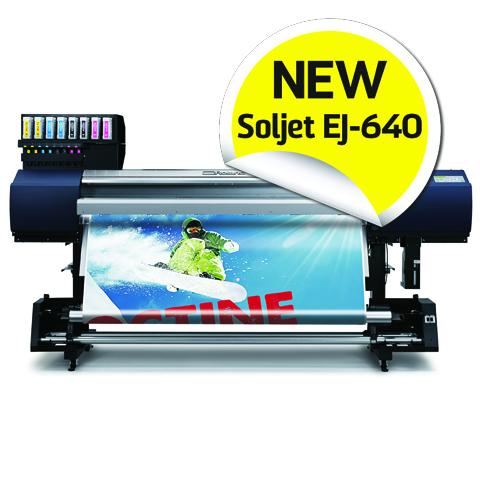 Nuova SOLJET-640 prodotto