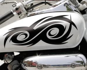 decorazione serbatoio moto